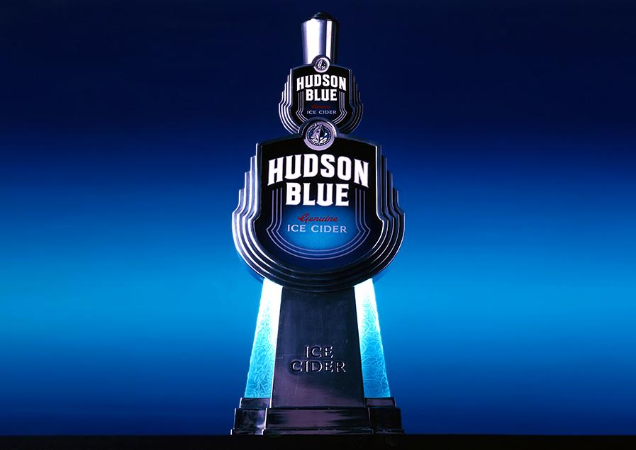 hudson ice blue cider