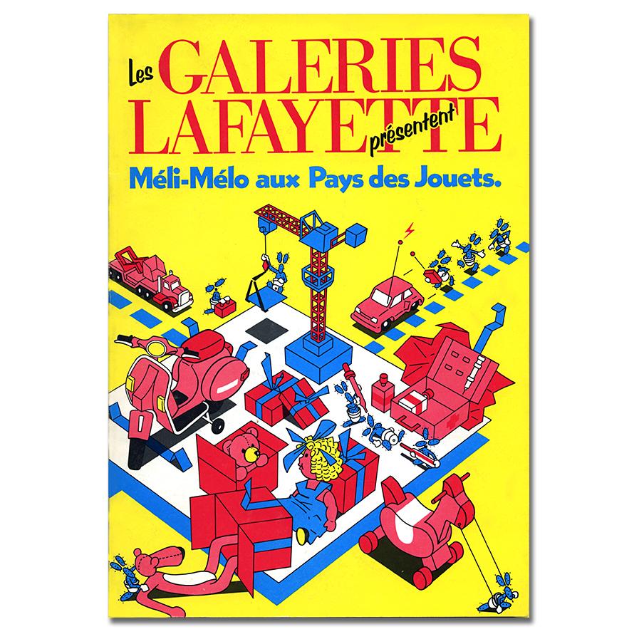 Galeries Lafayette toys catalogue
