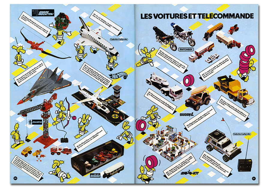 Galeries Lafayette toys catalogue 2